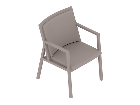A generic rendering - Ascribe Chair