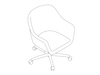 A line drawing - Bumper Conference Chair