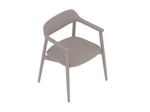 A generic rendering - Crosshatch Side Chair