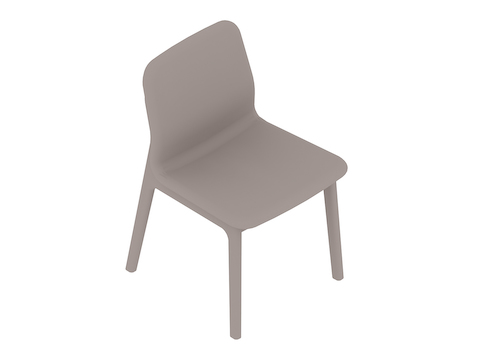 A generic rendering - Deft Chair–Armless