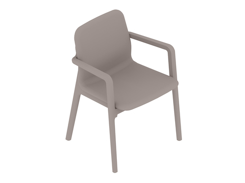 A generic rendering - Deft Chair–With Arms