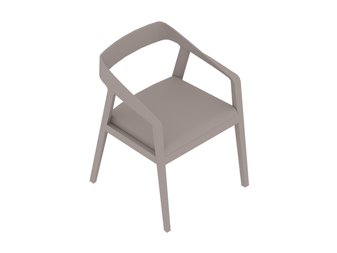 A generic rendering - Full Twist Guest Chair