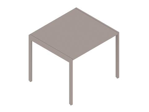 A generic rendering - H Frame Side Table
