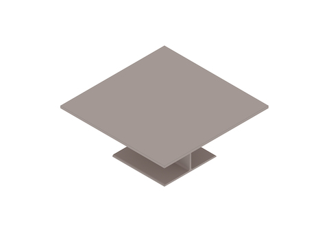 A generic rendering - I Beam Coffee Table