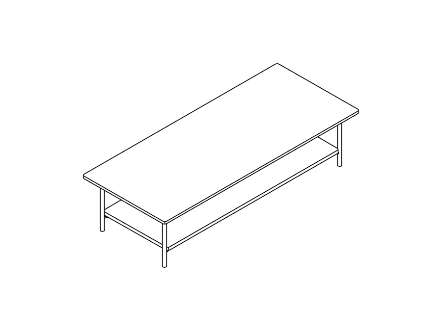 A line drawing - Layer Nesting Table–High