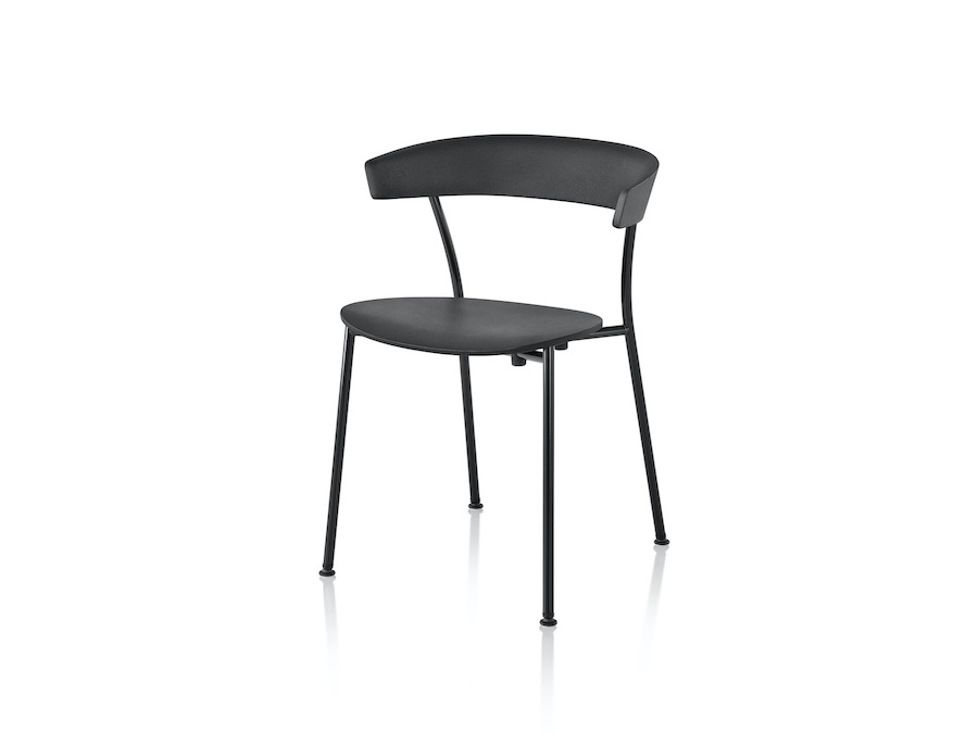A photo - Leeway Chair–Metal Frame–Polyurethane Seat