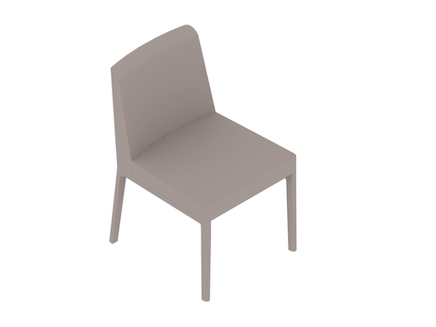 A generic rendering - Nessel Chair–Armless