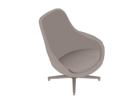 A generic rendering - Saiba Lounge Chair