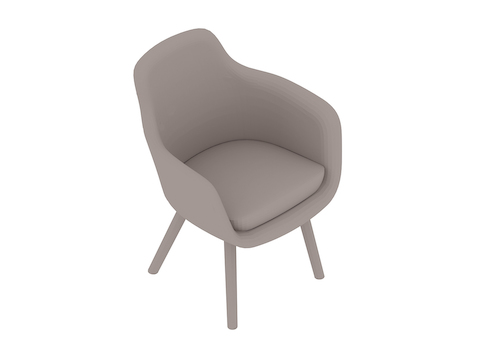 A generic rendering - Saiba Side Chair