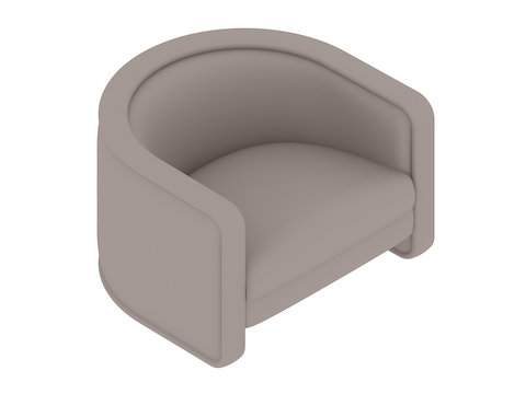 A generic rendering - U-Chair–Without Casters