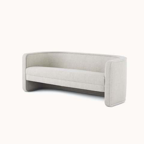 U-Series Settee upholstered in Vionette Desert Mix.