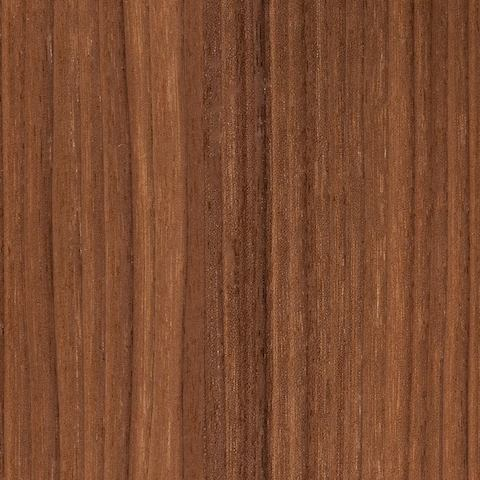 A swatch of natural walnut veneer.