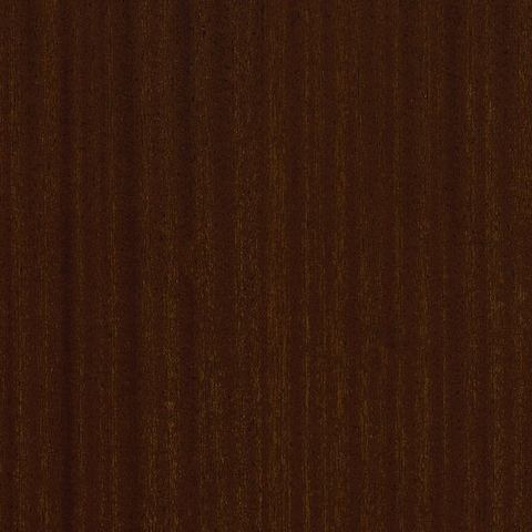 A swatch of Cocoa Sapele veneer.