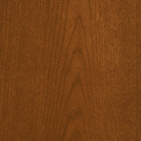 A swatch of Aged Cherry veneer.