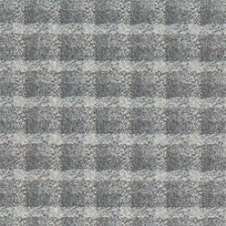 A sample of the Mini Plaid pattern from Geiger's Sartorial textile collection, shown in gray.